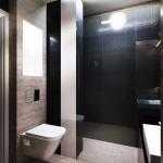 projekt łazienki czarnej