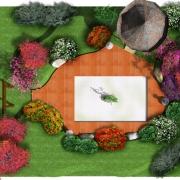 projekt ogrodu Niewielka działka